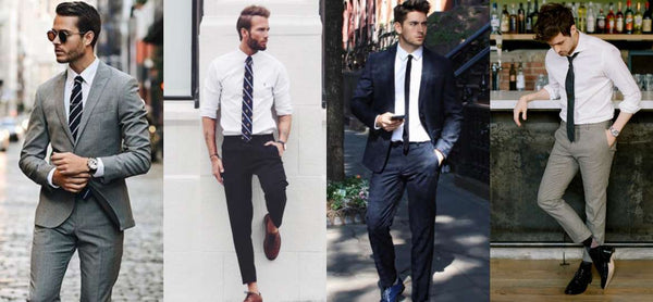 Shirt and Tie Combinations with a White Shirt