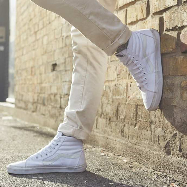 f0e32bc5a6 How to Wear Vans Sk8-Hi Trainers