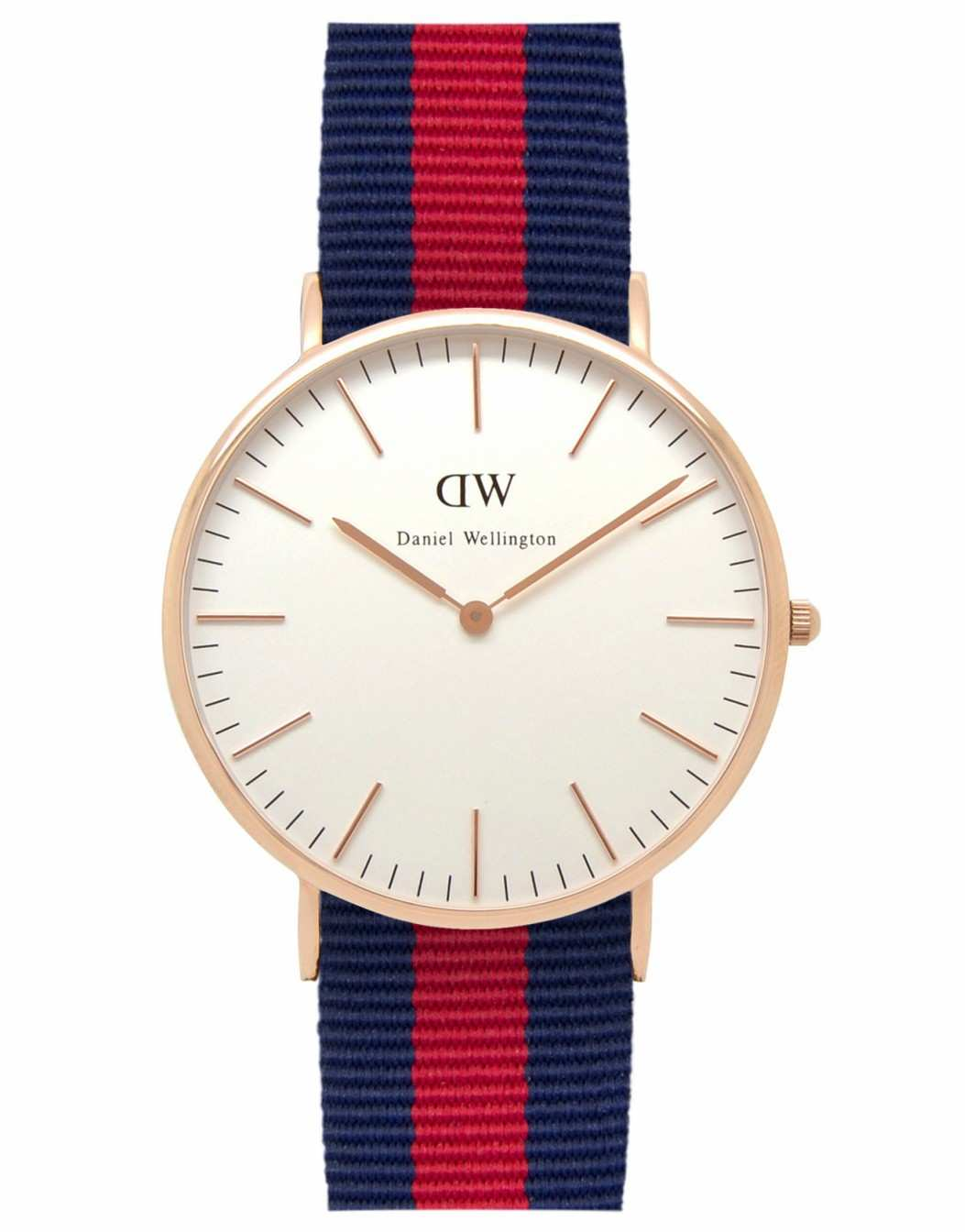 DANIEL WELLINGTON 0101DW Mens Oxford Watch Navy