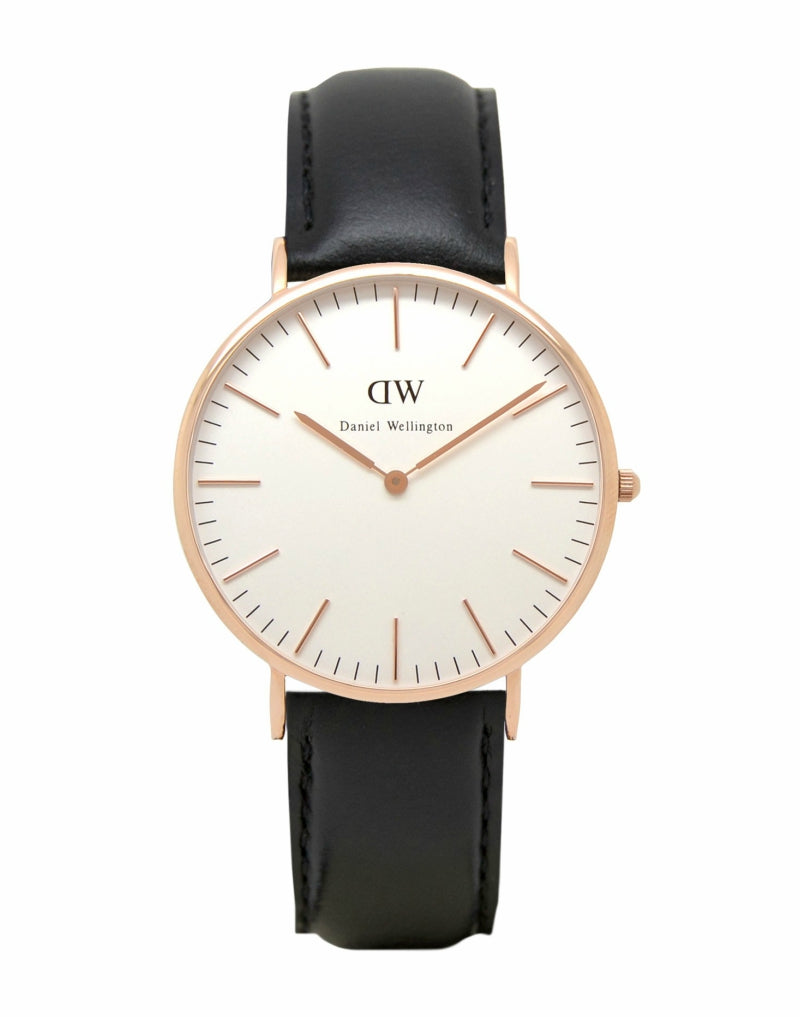 DANIEL WELLINGTON 0107DW Mens Sheffield Watch Black mens