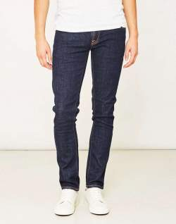 Nudie Jeans Tight Long John Twill Rinsed Jeans Blue men