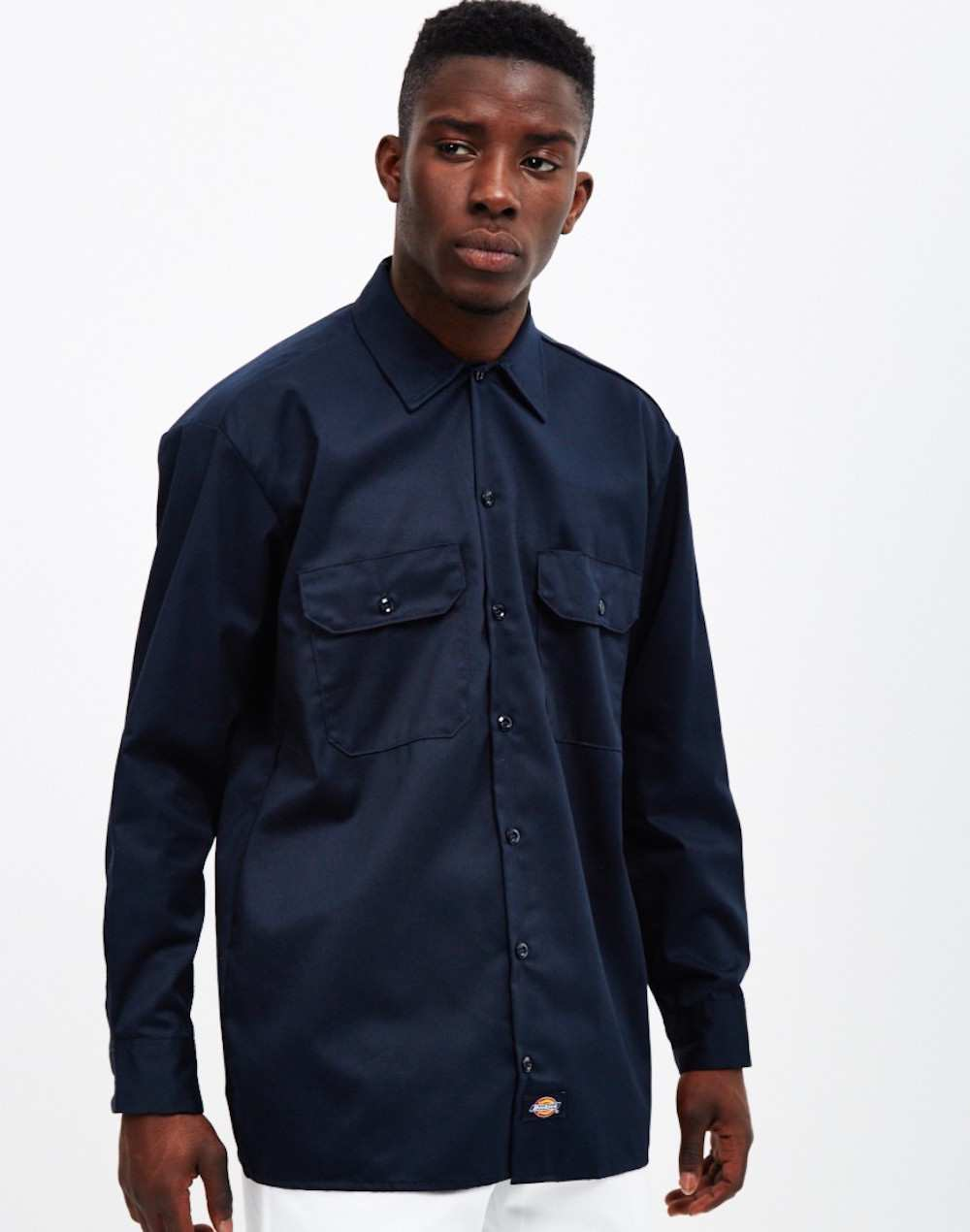 Dickies blue shirt men