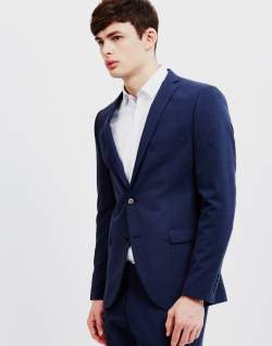 Selected Navy Blazer men