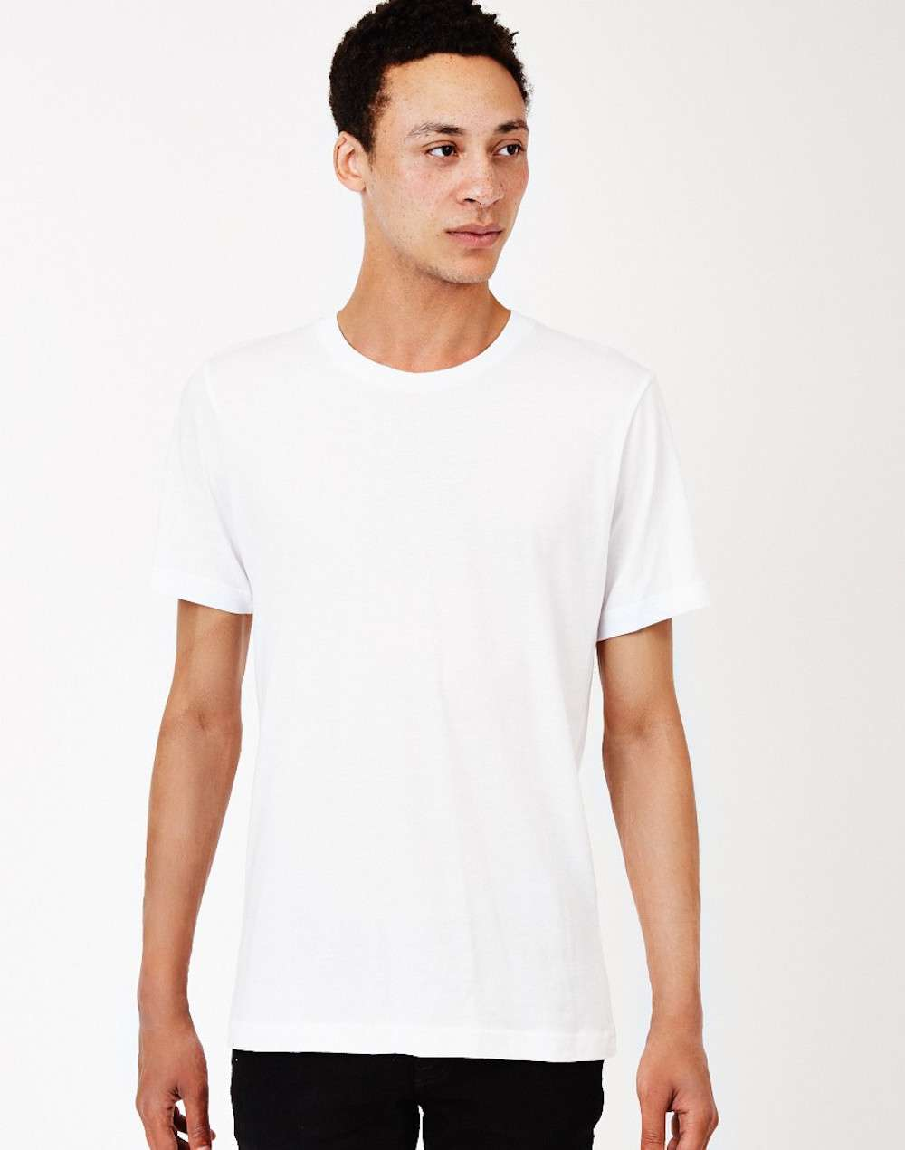The Idle Man White T-Shirt mens