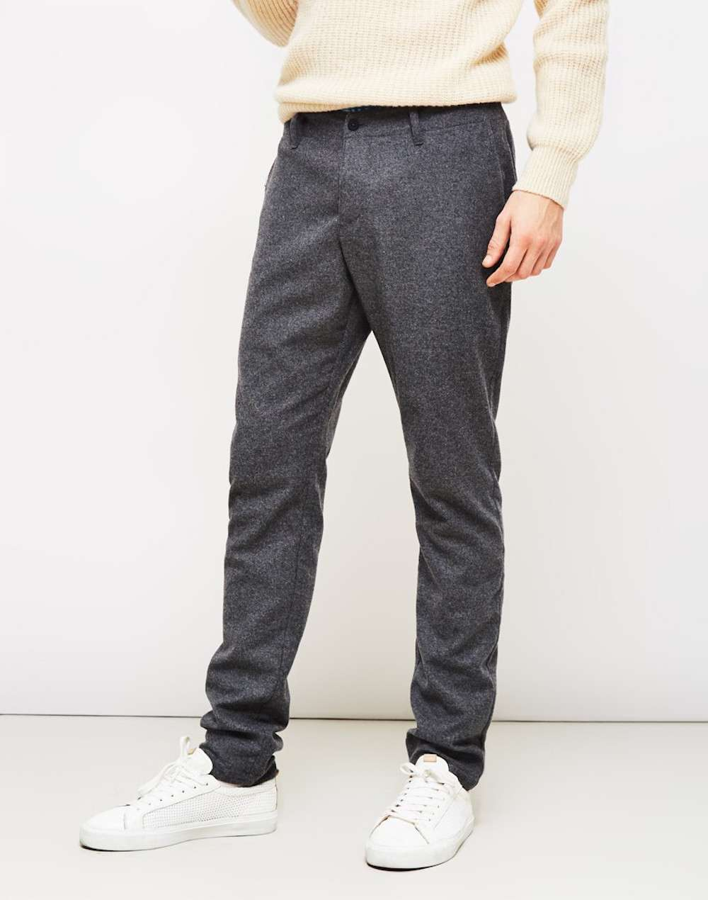 YMC Grey Trousers men