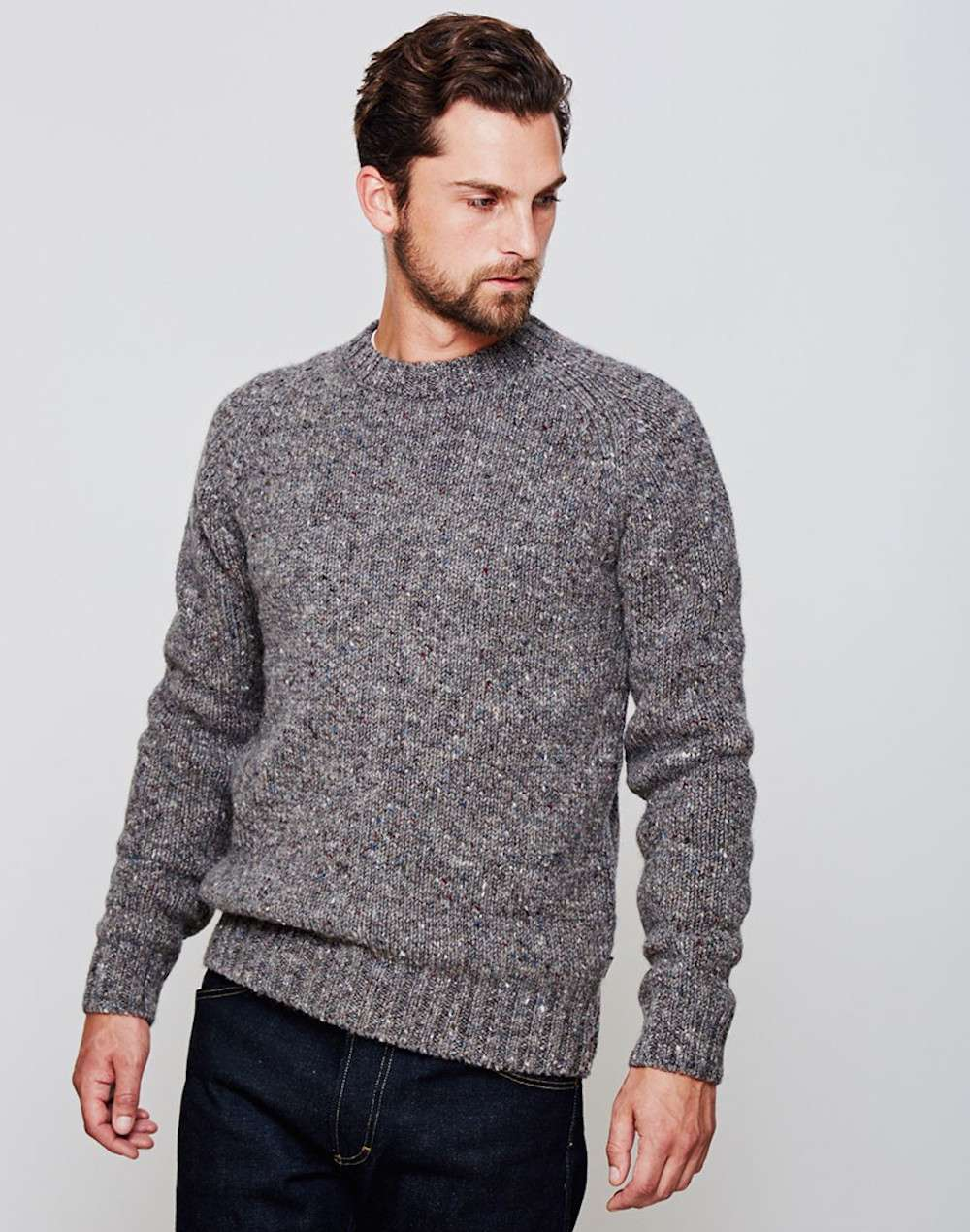 Barbour Mens Grey jumper men