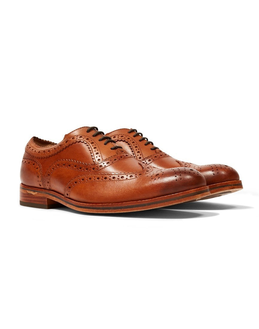 brown hudson mens shoes