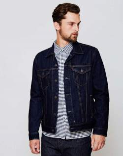 Levi Denim Jacket men the idle man
