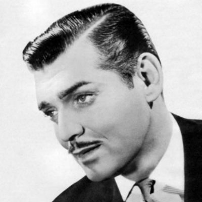 mens 1920s haircut side parting for men