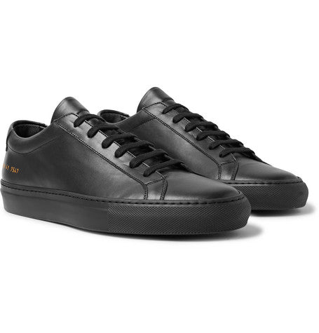 check out 78776 c5aa0 High in-demand in leather, Black Common Projects have also available in  suede and matt leather, providing the opportunity to mix and match with  textures.