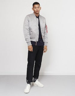 ALPHA INDUSTRIES MA1 VF 59 Jacket Silver
