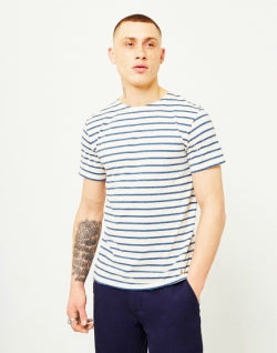 ARMOR LUX Mens Classic T-Shirt Off White