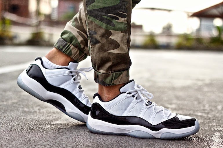Air-Jordans-concord-low-XI-mens-trainers-fashion