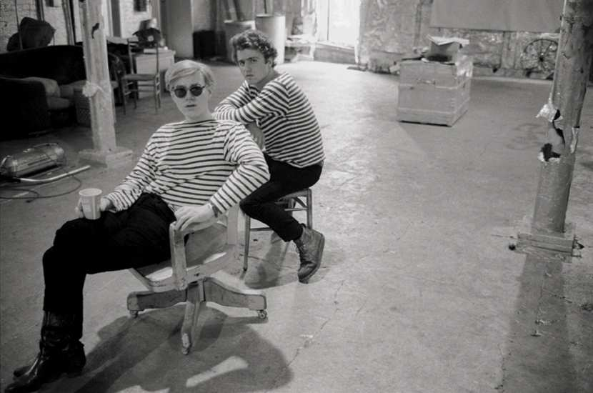 andy warhol beatnik men