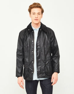 BARBOUR Bedale Wax Jacket Black for men