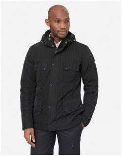 BARBOUR International Roper Shell Jacket Black Mens