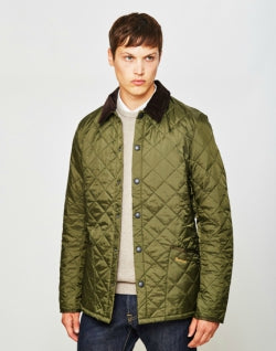 BARBOURHeritage Liddesdale Quilted Jacket Green