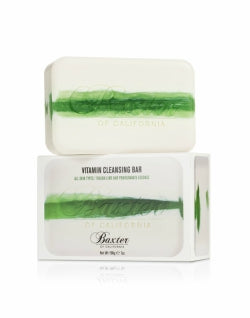 BAXTER OF CALIFORNIA Mens Vitamin Cleansing Bar Italian Lime 198g White