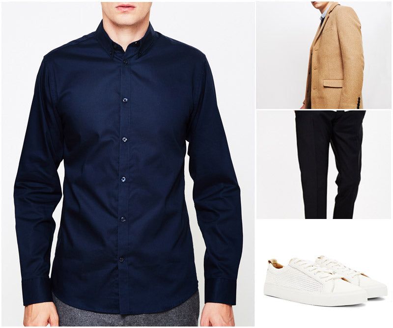 Best Top Dress Shirts Camel Coat Navy Trousers Trainers