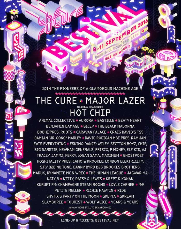 Bestival Line Up 2016