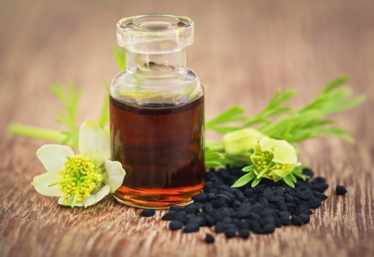 Black seed oil and plant