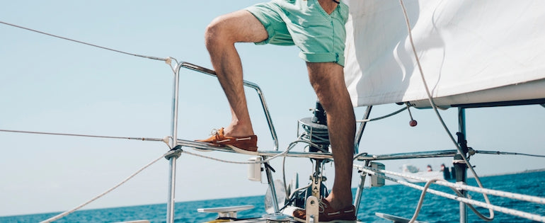 Boat-Shoes-Summer-Style-Mens-Blue-Shorts