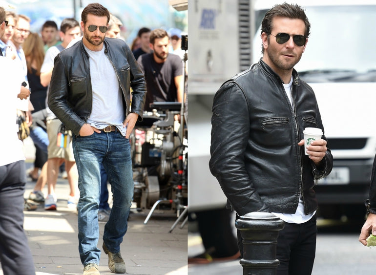 Bradley-Cooper-Leather-Jacket-White-T-shirt-Mens-Style