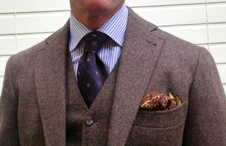 How to Pull off a Brown Suit with Absolute Ease