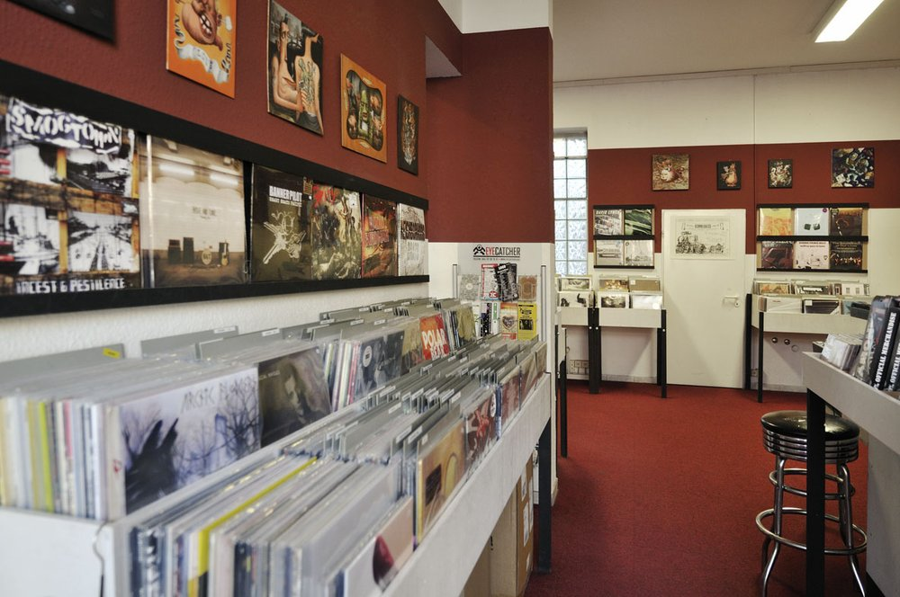 Burnout Record store Sternschanze Hamburg