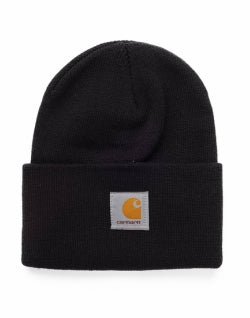 CARHARTT WIP Acrylic Watch Hat Black mens