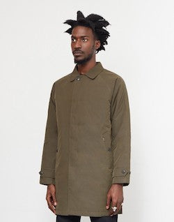 CARHARTT WIP Atlas Trench Coat Green