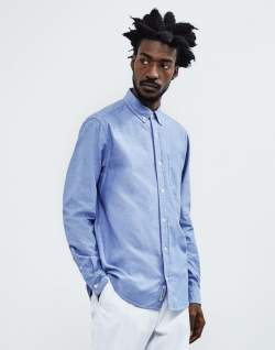 CARHARTT WIP Civil Chambray Shirt Blue
