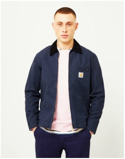CARHARTT WIP Detroit Jacket Canvas Navy Mens