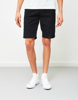 CARHARTT WIP Lamar Sid Stretch Twill Mens Short Black