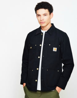 CARHARTT WIP Michigan Chore Coat Black mens