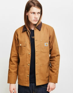 CARHARTT WIP Michigan Chore Coat Tan mens
