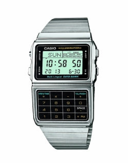CASIO Digital DBC-611E-1EF Watch Silver mens