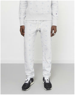 CHAMPION All Over Print Track Pants Grey Mens