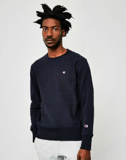 CHAMPION Classic Reverse Weave Sweatshirt Navy mens