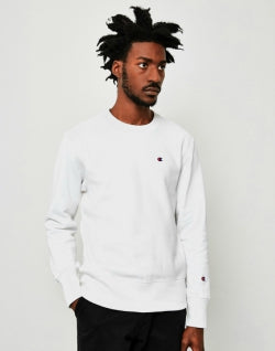 CHAMPION Classic Reverse Weave Sweatshirt White mens