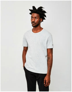 CHAMPION Reverse Weave Crew Neck T-Shirt Grey Mens