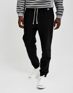 CHAMPION Reverse Weave 2.0 Rib Cuff Pants Black