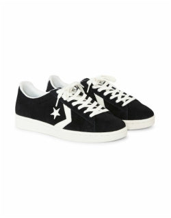 CONVERSE Pro Leather 76 Suede Ox Black Mens