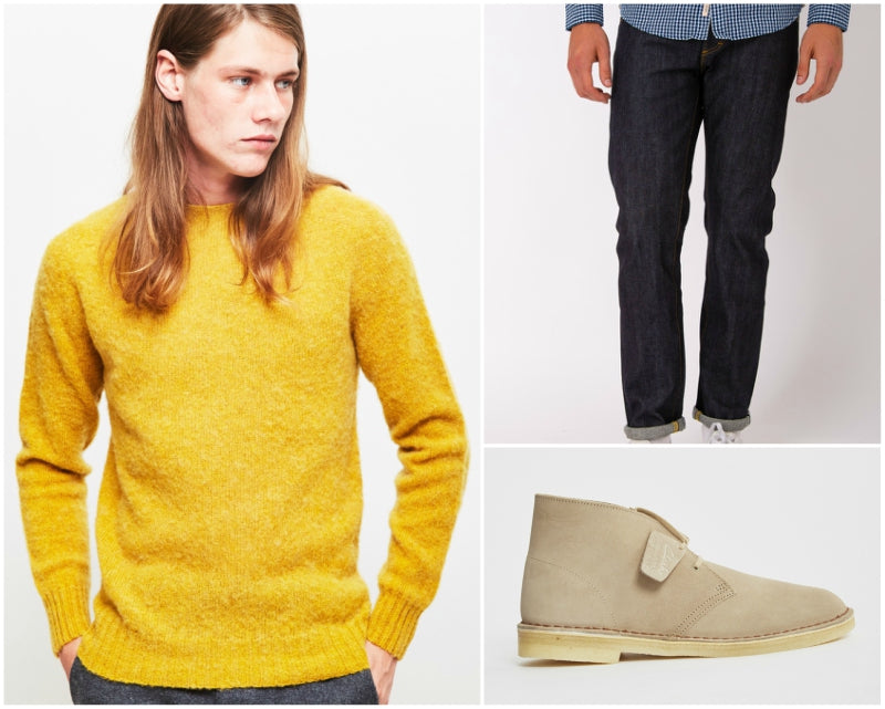 Casual Daywear suede shoe outfit