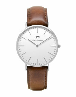 DANIEL WELLINGTON 0207DW St Mawes Watch Silver mens