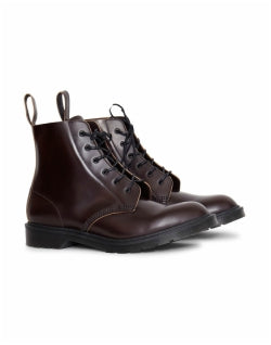 DR MARTENS Arthur 6 Eye Boot Burgundy Mens