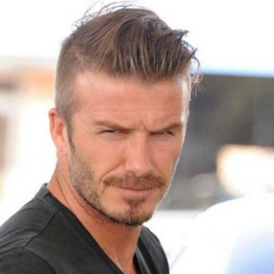 David Beckham hairstyle for thinning hair