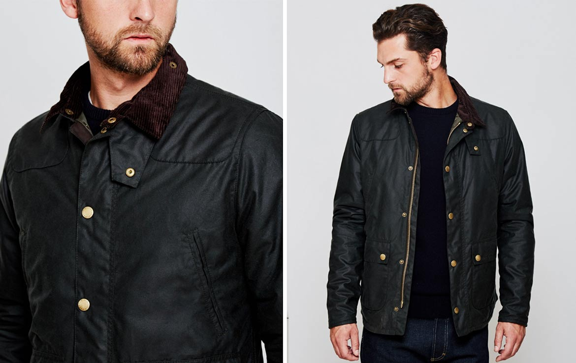 waxed jacket dinner date for men