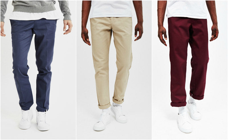 Dress Shirts Outfit Smart Chino Trousers Shopping Style Grid Guide