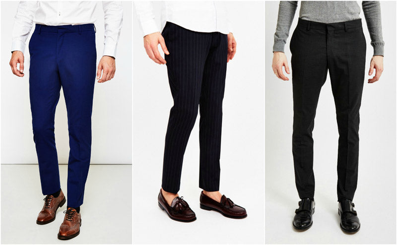 Dress Shirts Outfit Smart Trousers Shopping Style Grid Guide
